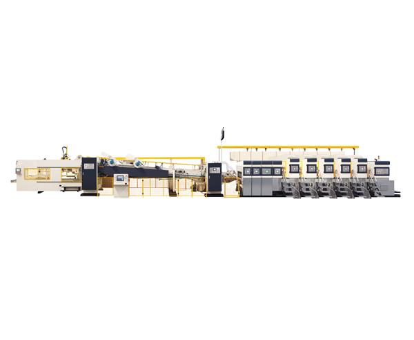 Inline Flexo Folder Gluer Machine
