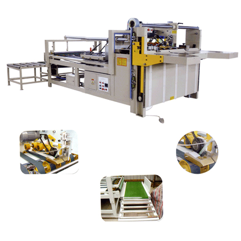 Semi-Auto Folder Glue Machine